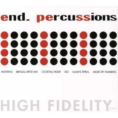 End PERCUSSIONS CD