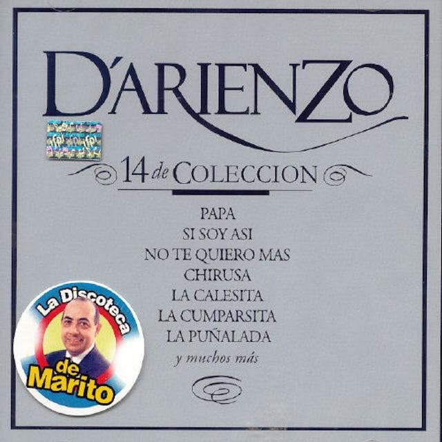 Juan d'Arienzo 14 DE COLECCION CD