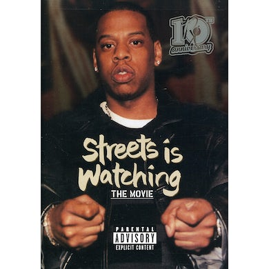 Jay Z STREETS IS WATCHING DVD