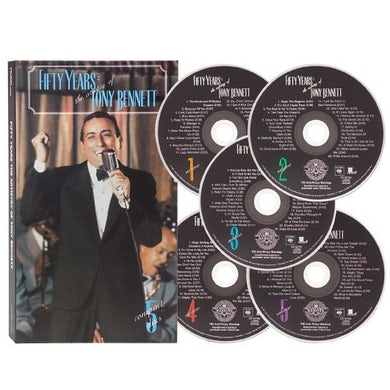 FIFTY YEARS: THE ARTISTRY OF TONY BENNETT CD