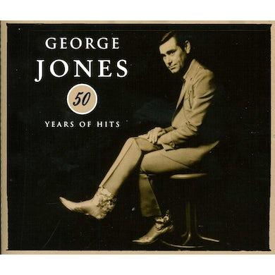 George Jones 50 YEARS OF HITS CD