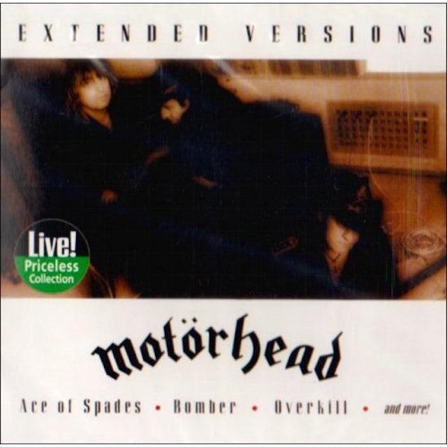 Motorhead EXTENDED VERSIONS CD