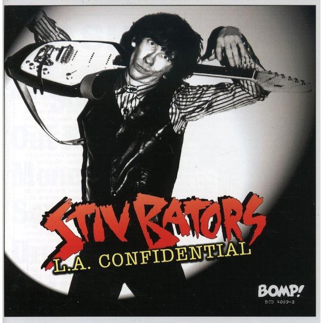 Stiv Bators L A CONFIDENTIAL CD