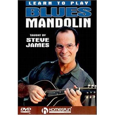 Steve James LEARN TO PLAY BLUES MANDOLIN 1 DVD