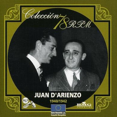 Juan d'Arienzo COLECCION 78 R.P.M. 1940-1942 CD