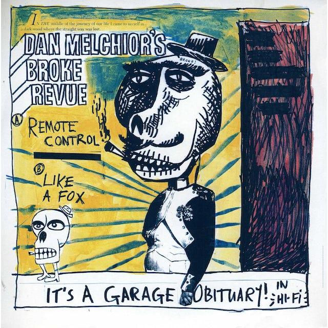 Dan / Broke Revue Melchior GARAGE OBITUARY (Vinyl)