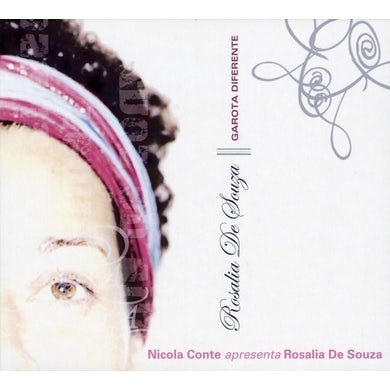 Rosalia De Souza GAROTA DIFERENTE: THE REMIX ALBUM CD