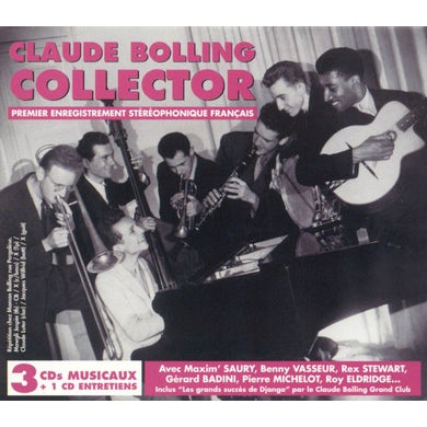 CLAUDE BOLLING COLLECTOR CD