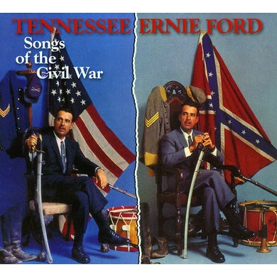 Tennessee Ernie Ford SONGS OF THE CIVIL WAR CD