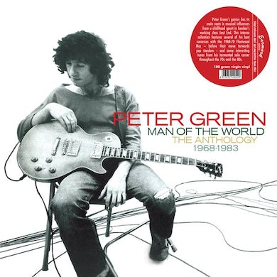 Peter Green MAN OF THE WORLD: ANTHOLOGY 1968-1983 Vinyl Record