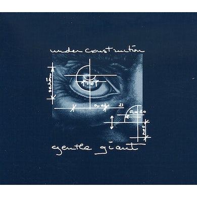Gentle Giant UNDER CONSTRUCTION CD