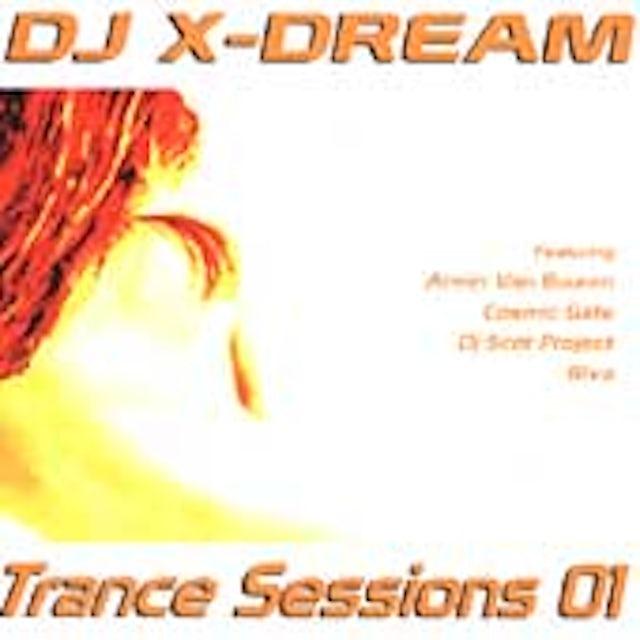 DJ X-Dream TRANCE SESSIONS 01 CD