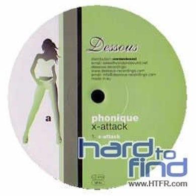 Phonique X-ATTACK Vinyl Record