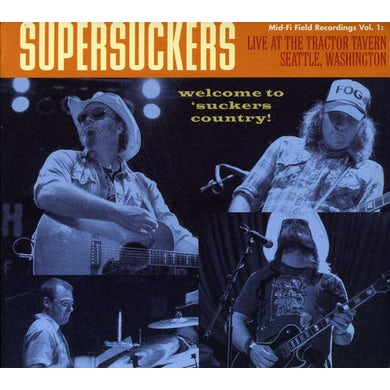 Supersuckers LIVE AT THE TRACTOR TAVERN CD