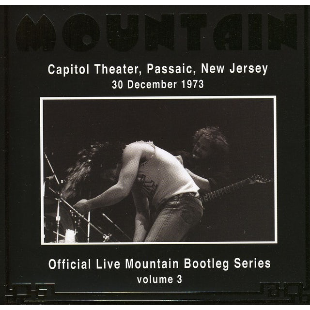 Mountain OFFICIAL BOOTLEG 3: LIVE AT CAPITOL THEATRE NJ CD