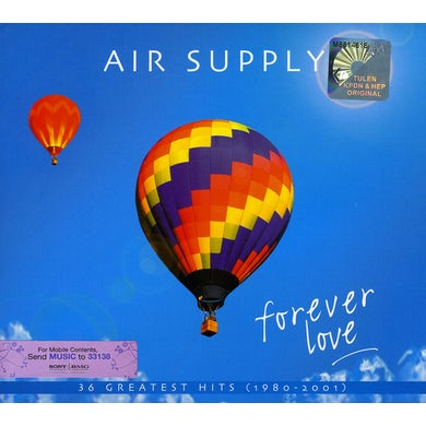Air Supply FOREVER LOVE: GREATEST HITS CD