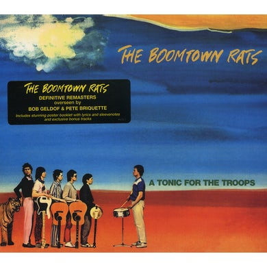 Boomtown Rats TONIC FOR THE TROOPS CD
