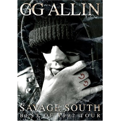 Gg Allin SAVAGE SOUTH: BEST OF 1992 TOUR DVD