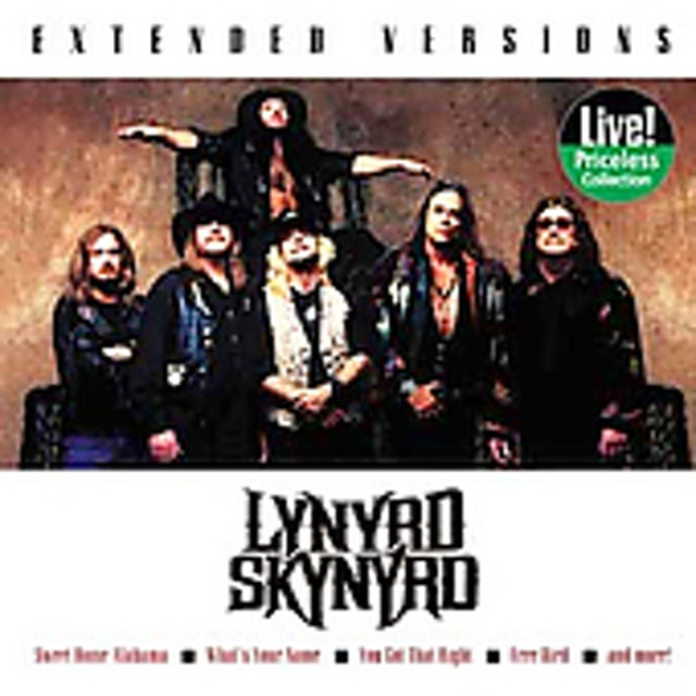 Lynyrd Skynyrd EXTENDED VERSIONS CD