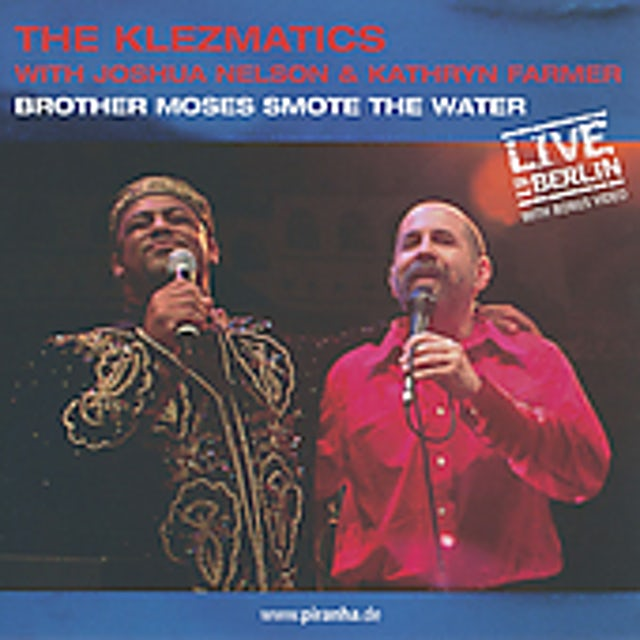 Klezmatics BROTHER MOSES SMOTE THE WATER CD