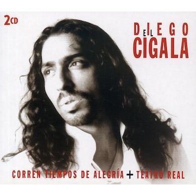 Diego El Cigala CORREN TIEMPOS DE ALEGRIA / TEATRO REAL CD