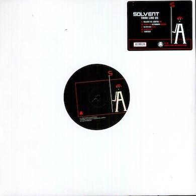 Solvent THINK LIKE US Vinyl Record