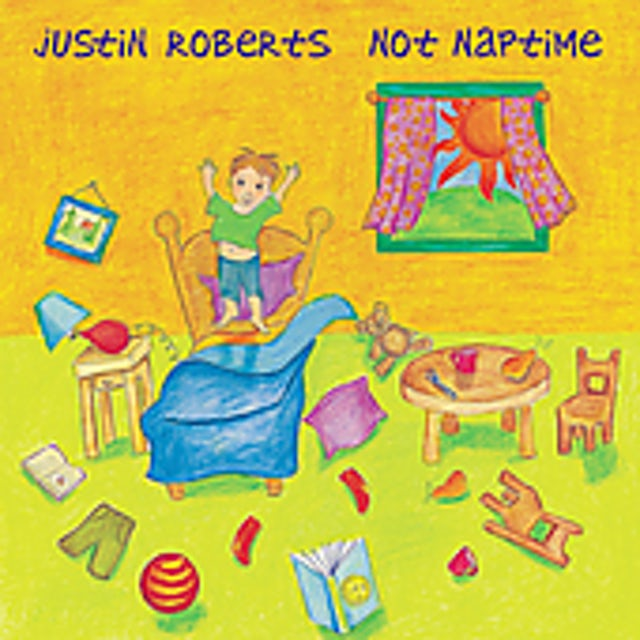 Justin Roberts NOT NAPTIME CD