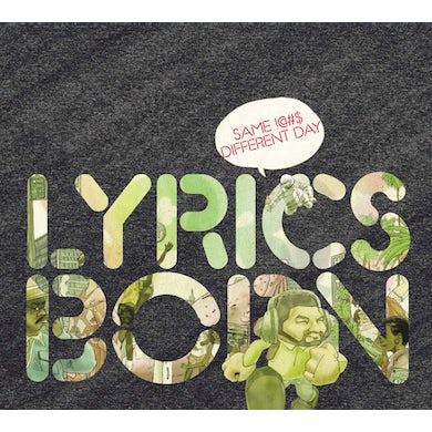 Lyrics Born SAME !@#$ DIFFERENT DAY CD