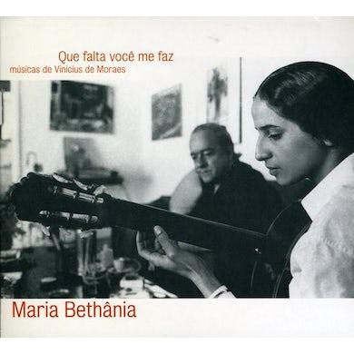 Maria Bethania BETHANIA CANTA VINICIUS CD