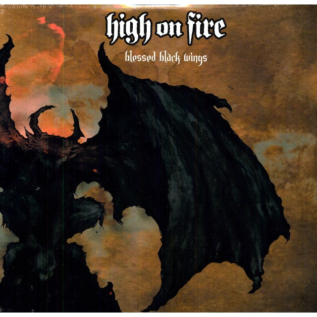 High On Fire BLESSED BLACK WINGS Vinyl Record
