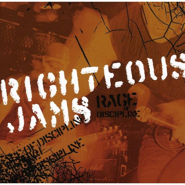 Righteous Jams RAGE OF DISCIPLINE CD