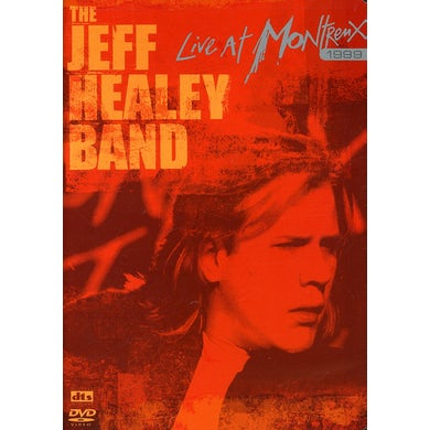 Jeff Healey LIVE AT MONTRENX 1999 DVD
