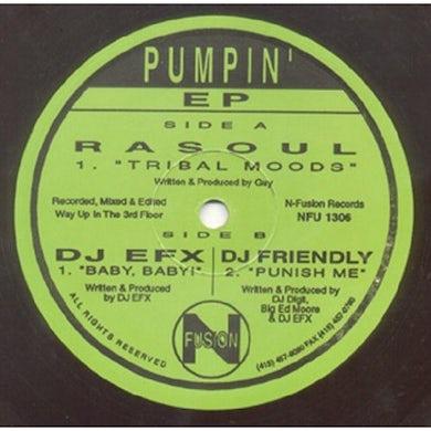 Dj Rasoul Efx Dj Friendly PUMPIN Vinyl Record