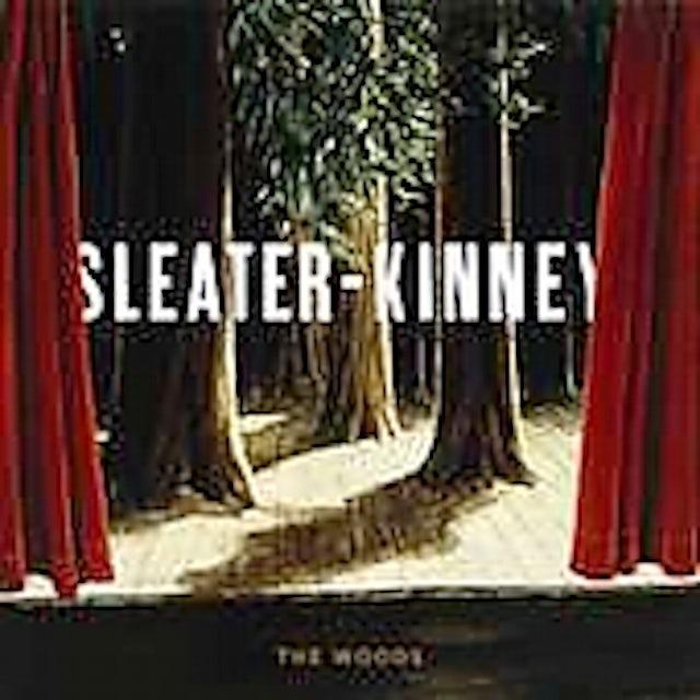 Sleater-Kinney WOODS CD