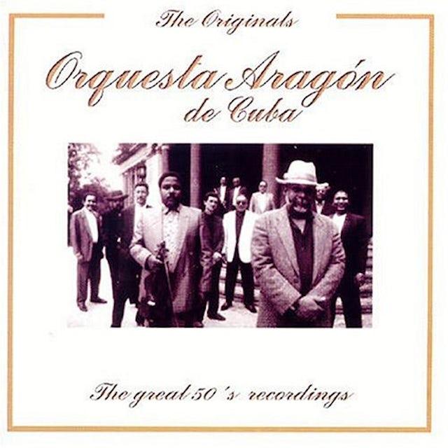 Orquesta Aragon GREAT 50'S RECORDINGS CD