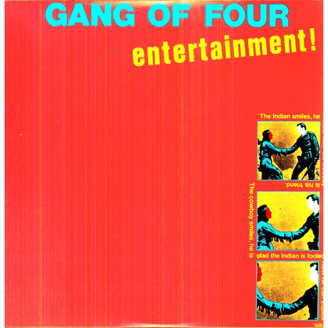 Gang Of Four ENTERTAINMENT Vinyl Record