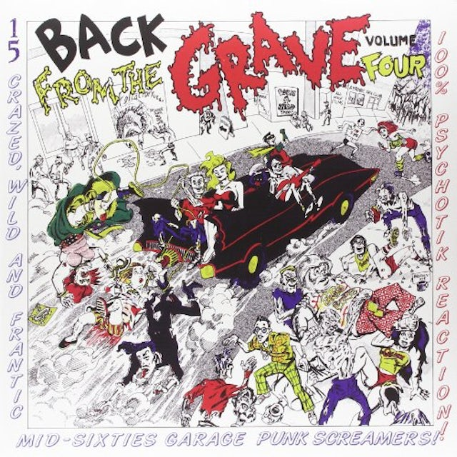 Back From The Grave 4 / Various Vinyl Record
