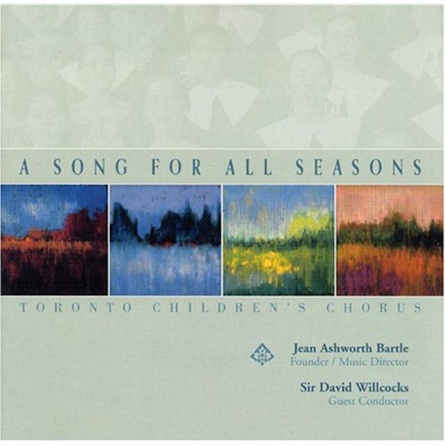 Toronto Children's Chorus SONG FOR ALL SEASONS CD