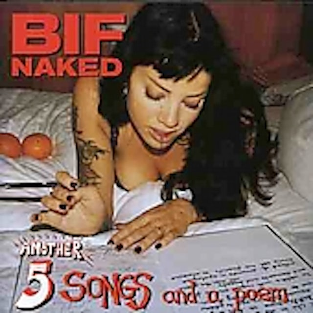 Bif Naked ANOTHER 5 SONGS & A POEM CD