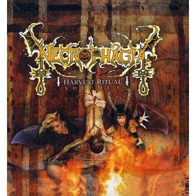Necrophagia HARVEST RITUAL 1 CD