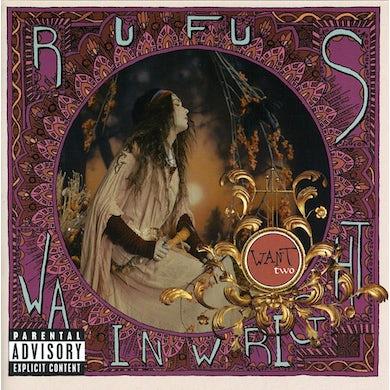 Rufus Wainwright WANT TWO CD