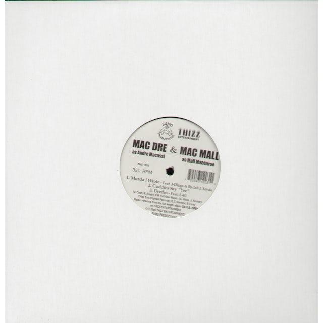 Mac Dre DREDIO: CUDDIES SAY YEE MURDA I WROTE Vinyl Record