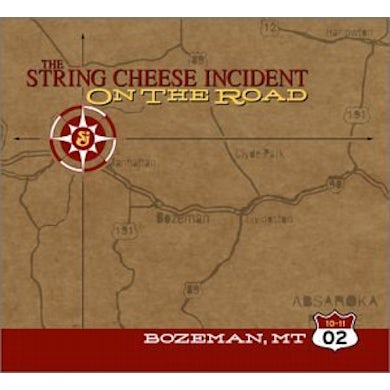 String Cheese Incident OCTOBER 11 2002 BOZ CD