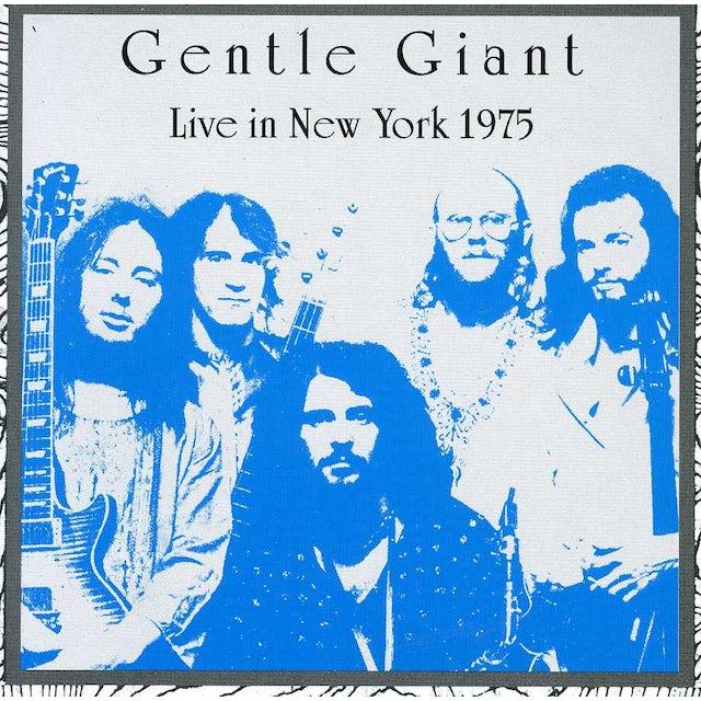 Gentle Giant LIVE IN NEW YORK CD