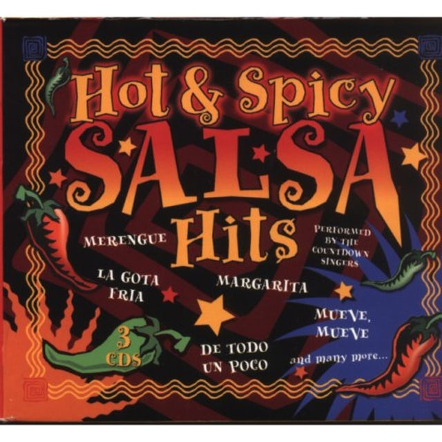 Countdown Singers HOT & SPICY SALSA CD