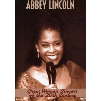 Abbey Lincoln GREAT WOMEN SINGERS OF THE 20TH CENTURY DVD