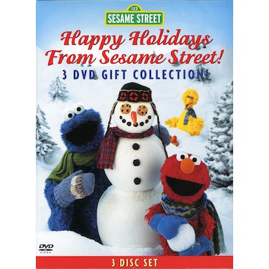 HAPPY HOLIDAYS FROM SESAME STREET DVD