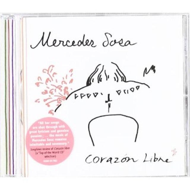 Mercedes Sosa CORAZON LIBRE CD