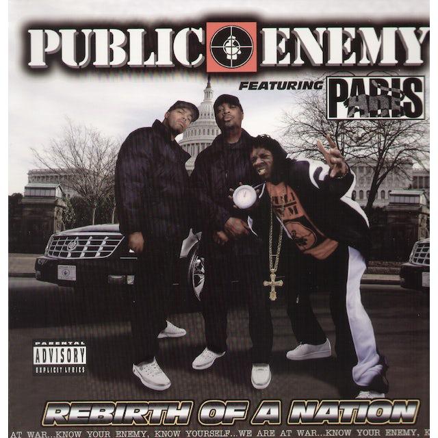 Public Enemy REBIRTH OF A NATION Vinyl Record