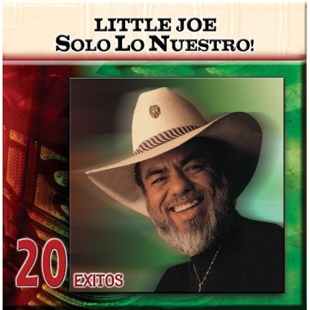 little joe SOLO LO NUESTRO: 20 EXITOS CD